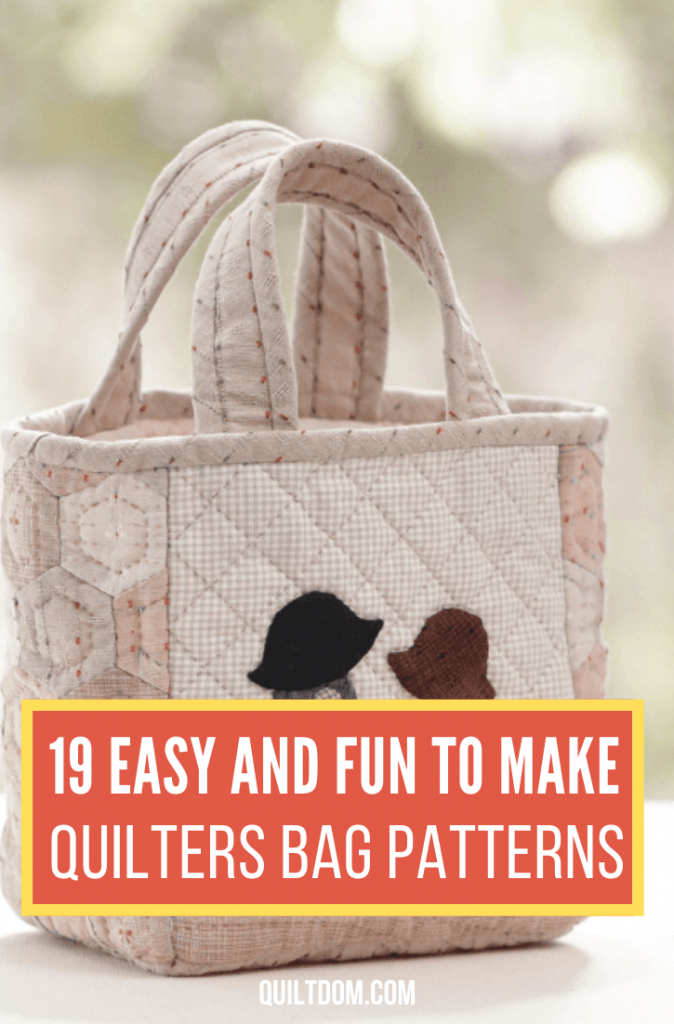 Looking for the perfect gift for someone who loves quilting? Try these quilters bag patterns and incorporate these into the bags you'd gift to them.