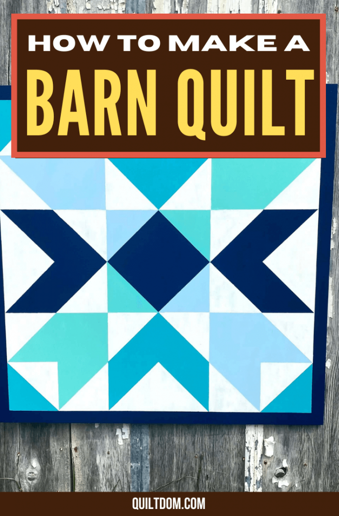 Barn quilts are quilts that give you a homey and nostalgic feeling every time you see it. Read this post and learn how to make a barn quilt with the provided step-by-step process.