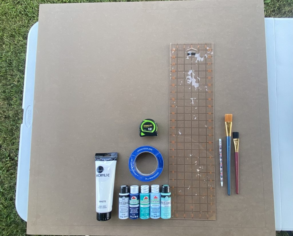 how to make a barn quilt supplies