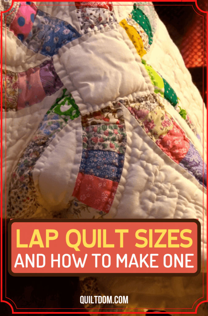 How big is a lap quilt? In this post, you will learn the correct lap quilt sizes, their difference from throw quilts, and how to make the former.